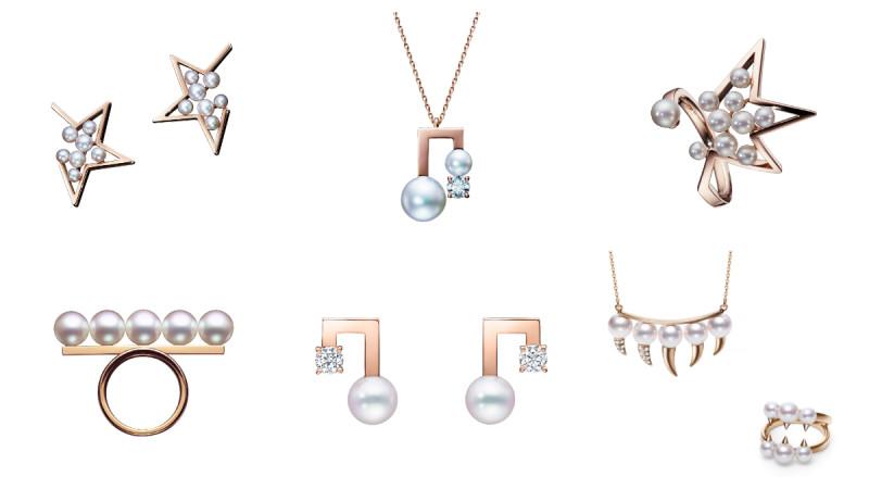 TASAKI 推出全新樱花金系列珠宝!