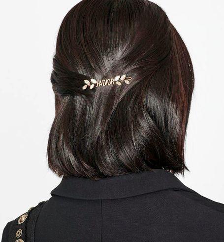 精选5款名牌时尚质感发夹,添上不经意的优雅气质!
